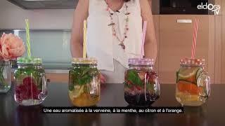 Les eaux aromatisées estivales