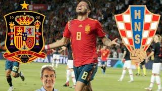 ESPAÑA 6-0 CROACIA | GOLES | COPE | 2018