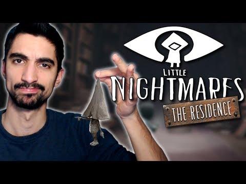 Το πρόσωπο της γκέισας - Little Nightmares: The Residence DLC