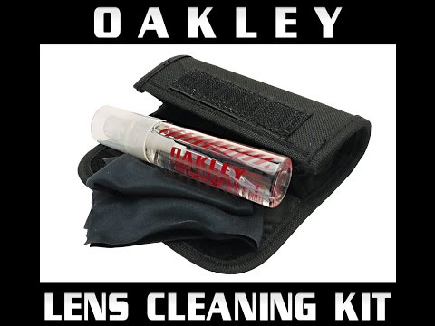 OAKLEY LENS CLEANING KIT REVIEW