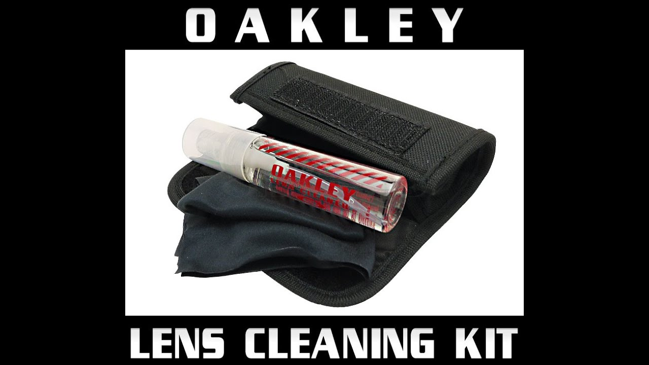 oakley lens cleaning