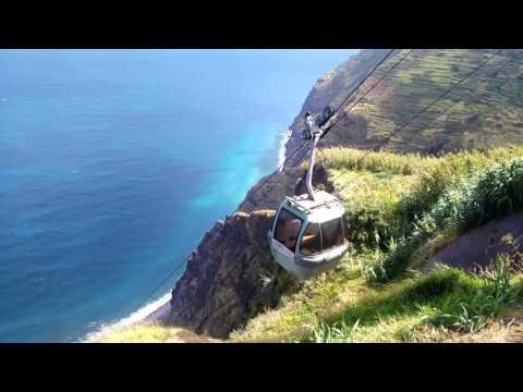 Achadas da Cruz cable car