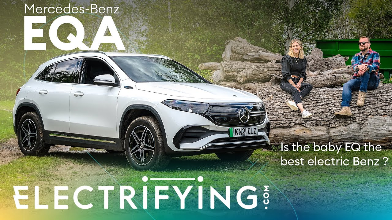 Mercedes EQA 2021 review – Is the baby EQ the best electric Benz ? / Electrifying