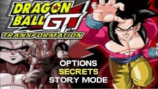 Dragon Ball GT Transformacion GBA con Logan