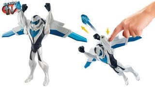 Max Steel Deluxe Flight Max Spinning Action Figure Toy Review, Mattel