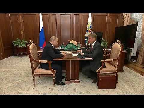 В.Путин обсудил с Г.Грефом, как Сбербанк решает вопрос с реструктуризацией кредитов жителей регионов