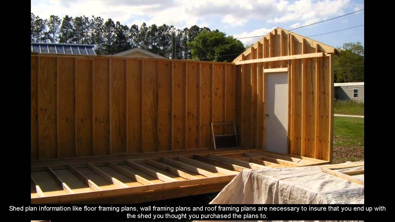 medium resolution of 8 x 12 shed plans