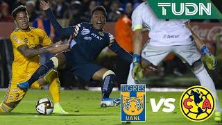 ¡Salcedo abucheado en el Volcán!   Tigres 2 - 4 América   Liga Mx - AP 19 - 4tos de final   TUDN