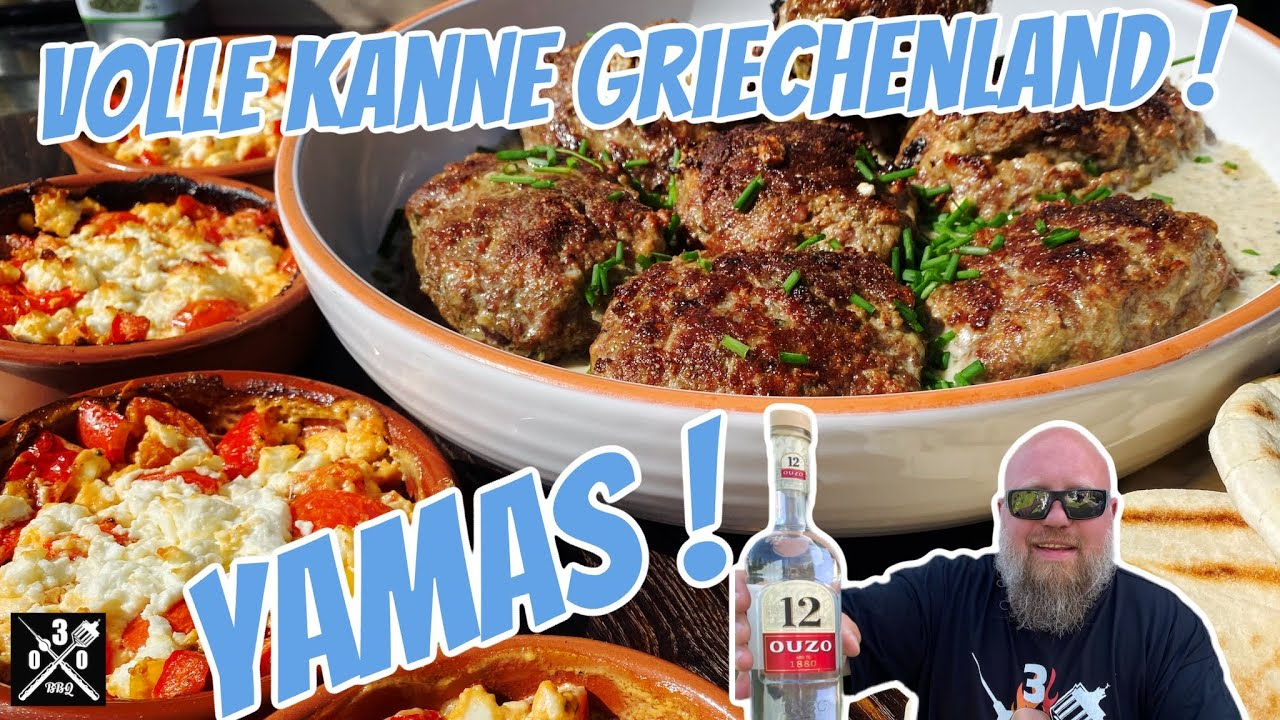 YAMAS! Griechische Köstlichkeiten vom Grill mit Ouzo12 - 030 BBQ