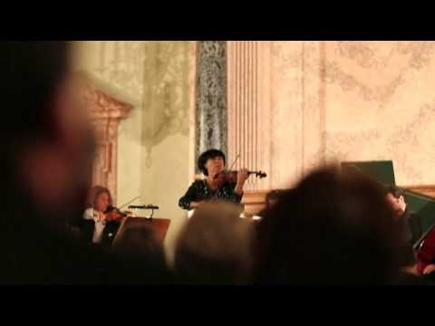 "Liana Isakadze with ""Residenz Solisten"", LIVE - Munich, Royal Hall of Residenz, 26.12.2013"