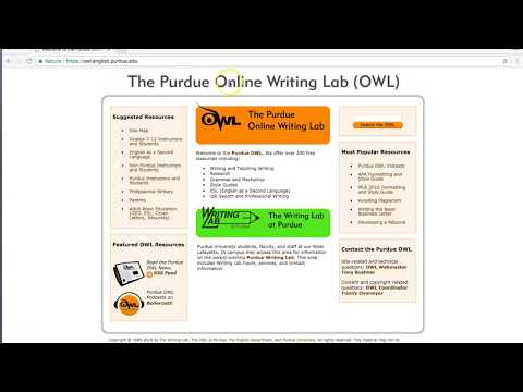 MLA Format:  How to cite using MLA Format