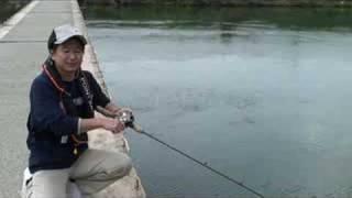 ブラックバスを釣る、バイブレーションルアーの動かし方の説明.