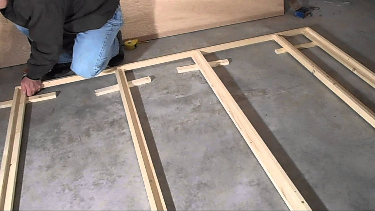 Murphy bed build part 1 youtube murphy bed build part 1 solutioingenieria