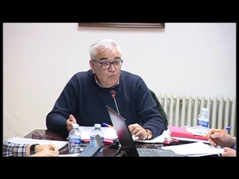 Ple de l'Ajuntament de Borriol celebrat el 2 d'abril de 2019