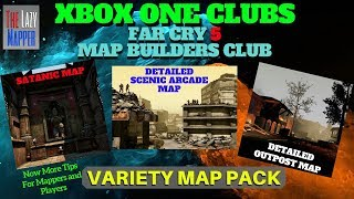 Xbox One Far Cry 5 Map Builders Club/ Variety Map Pack