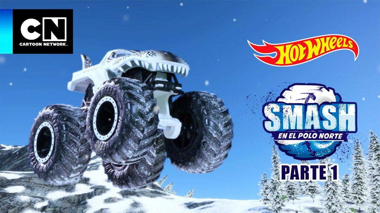 ¡La Navidad está en problemas!   Smash en el Polo Norte   Hot Wheels   Parte 1