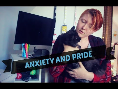 How I Manage my Anxiety + Pride Festivities || Realisticallysaying