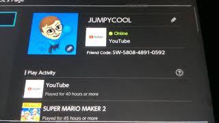 My Switch Friend Code!