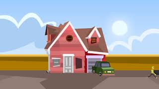 2D Animation for Consolidated Hallmark Insurance-  Home Insurance