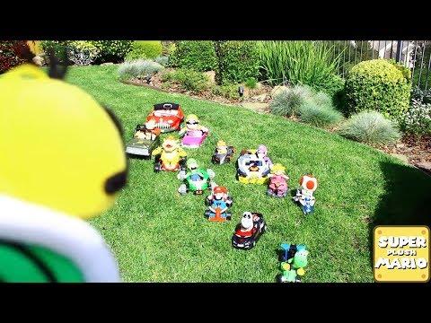 TEAM RACE | Super Plush Mario