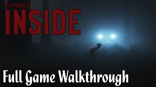 Inside Full Game Walkthrough No Commentary (All Secrets + Both Endings) [1080p HD] Xbox One Gameplay