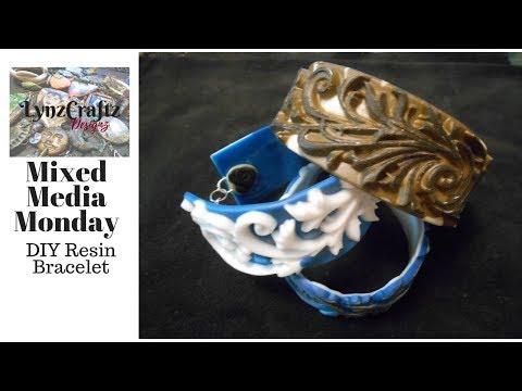 DIY Resin Casting Bracelets