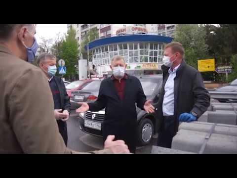 Дорожные службы Курска приступили к обновлению разметки