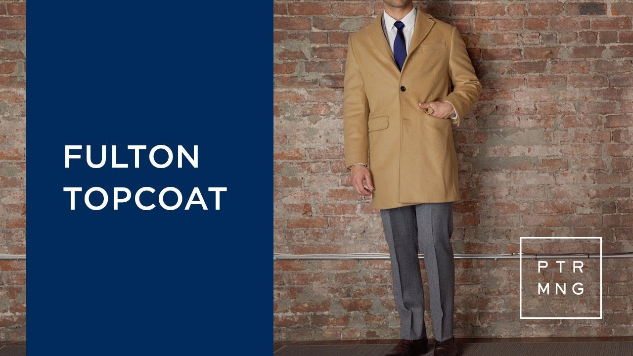 11d2ac91eaa2 Peter Manning NYC Fulton Topcoat | A Topcoat for Shorter Men - YouTube