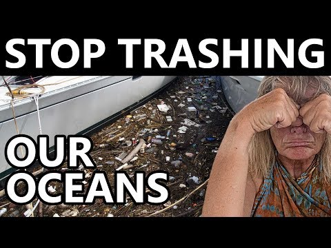 HOW TO DUMP TRASH ON A BOAT! Q&A 18