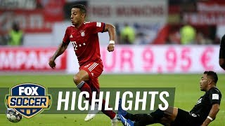 Thiago Alcantara scores fifth and final goal for Bayern Munich win | 2018 DFL-Supercup Highlights