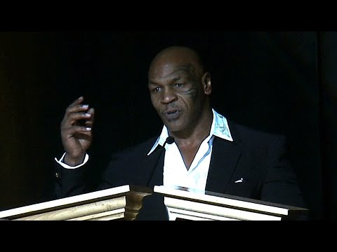 Mike Tyson Presents Muhammad Ali's Induction Into Nevada Boxing Hall of Fame 2015 (Full Speech)