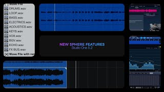 Studio One 5.2: New Sphere Features