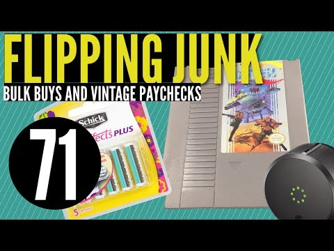 Flipping Junk [71] Amazing eBay Haul, Amazon Finds, and Retro Video Games