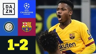 Ansu Fati trifft spät und hilft dem BVB: Inter - Barcelona 1:2 | UEFA Champions League | DAZN
