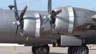 B-29 SuperFortress  Engine Start / Maintenance Check Flight
