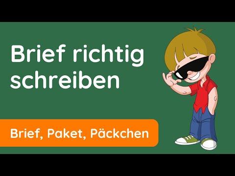 Briefe Schreiben Leicht Gemacht Brief Richtig Schreiben Youtube