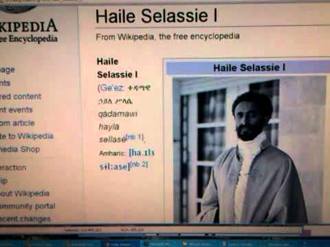 Gospel of Haile Selassie I, Rastafari & Salvation of God ...