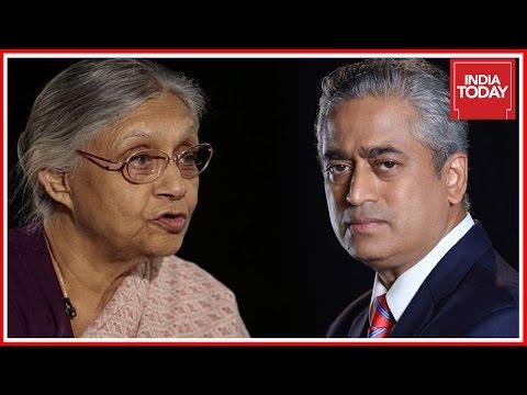 Sheila Dikshit Interview By Rajdeep Sardesai On Congress - SP Alliance In UP
