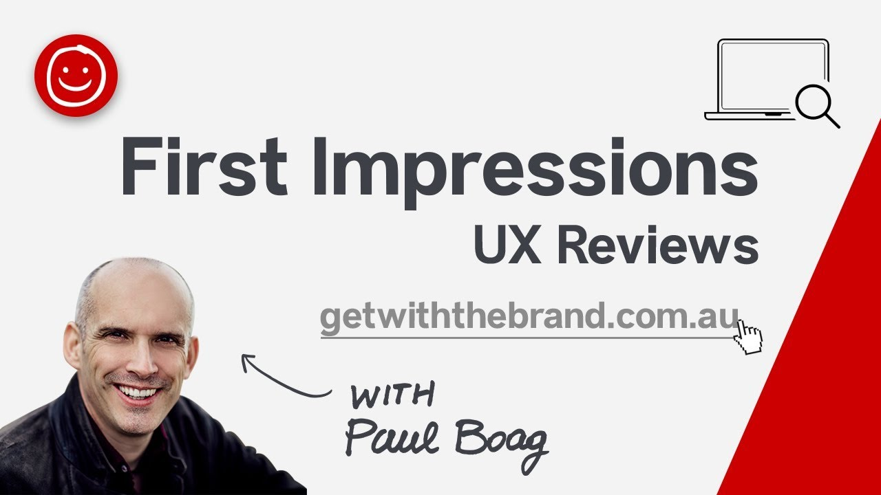 First Impressions with Paul Boag - Get With The Brand