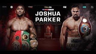 Joshua vs Parker is on! Heavyweight unification showdown, March 31