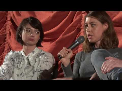 Kate Micucci, Aubrey Plaza, Jeff Baena The Little Hours Q&A 1 of 3
