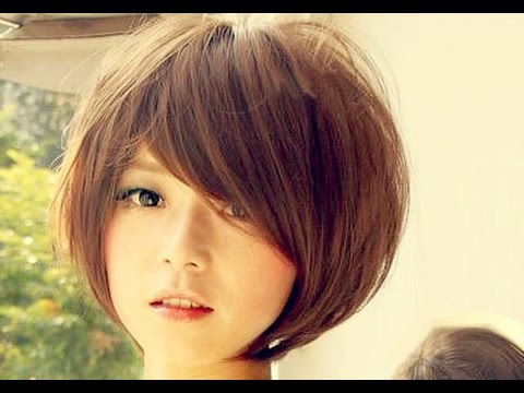 Short  Bob  Hairstyle  Asian YouTube