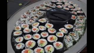Kings Meal - Учимся готовить суши! Видео урок от А до Я. (Full)