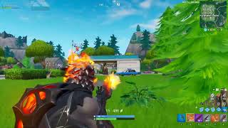 Practicing Fortnite on PC