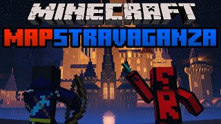 Minecraft Mapstravaganza! Crew Space Station, Pixel Land and Parkour Race!