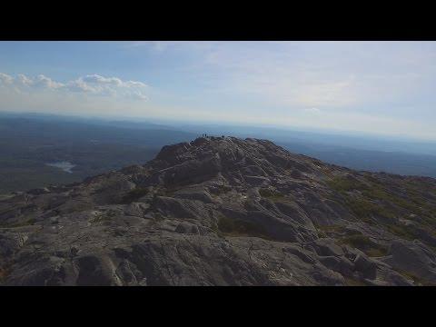 Drone Flight over Mount Monadnock