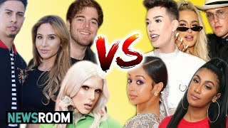 Who Is The BIGGEST YouTuber Right Now?! (NewsRoom)