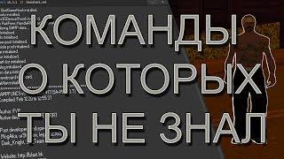 КОНСОЛЬНЫЕ КОМАНДЫ SAMPFUNCS О КОТОРЫХ ТЫ НЕ ЗНАЛ