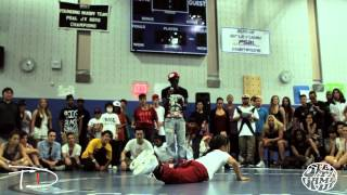 Step Ya Game Up 2012 | Hurrikane vs Noa | Hip Hop