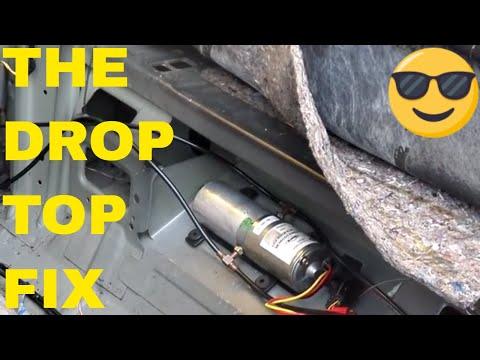 DIY Chrysler Sebring Convertible Top Motor/Relay Replacement